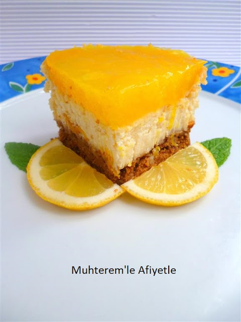 limonlu peynirli kek