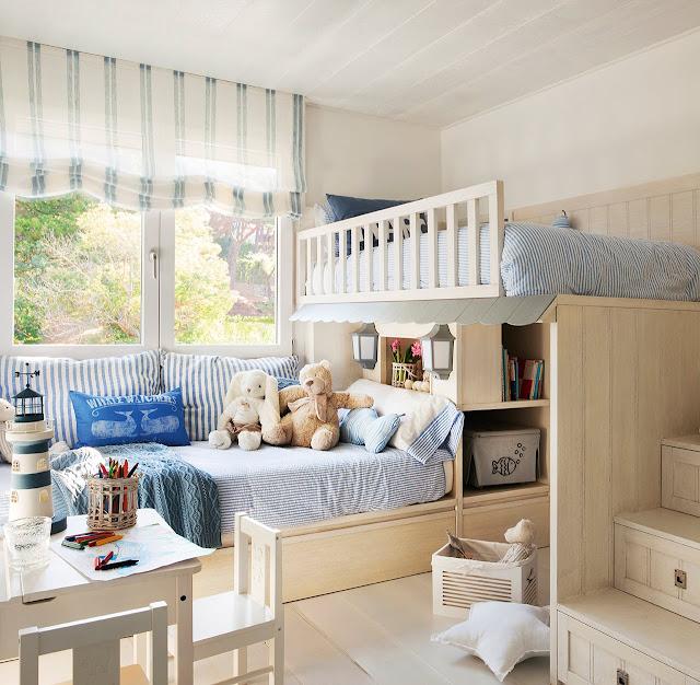camera de copii cu pat supraetajat