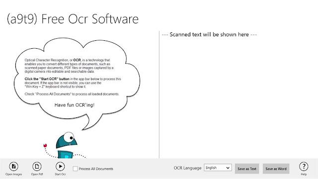 Microsoft a9t9 OCR