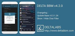 DOWNLOAD BBM MOD DELTA V4.2.0 APK TERBARU