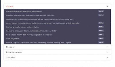 sitemap otomatis dan responsive