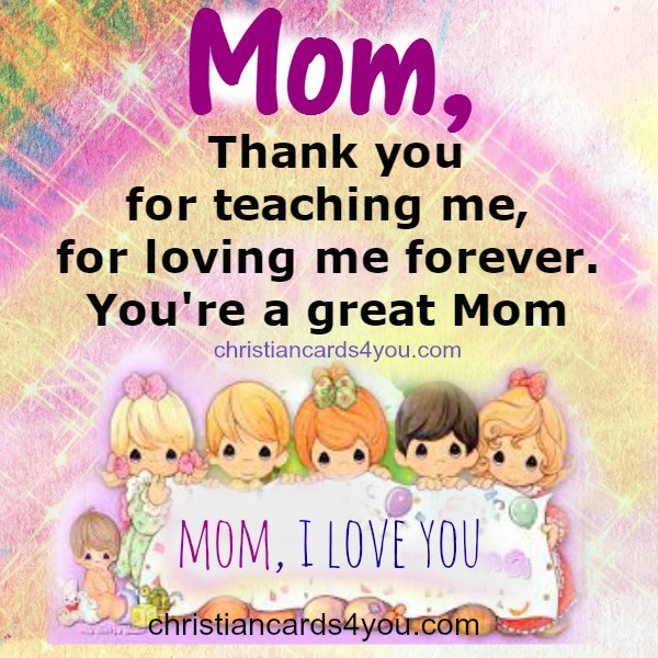 cute image with quotes for mom on mothers day