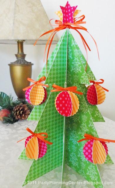 Christmas tree free printable