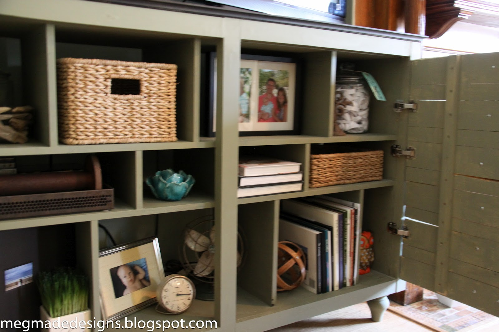 Beautiful Ikea meets Vintage Printer's Cabinetwhat what! - **MegMade** TA06
