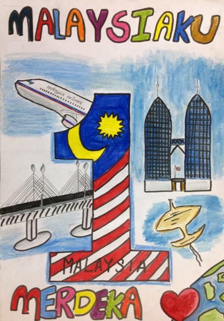 Lukisan Poster Kemerdekaan Malaysia Tercantik Cikimm Com