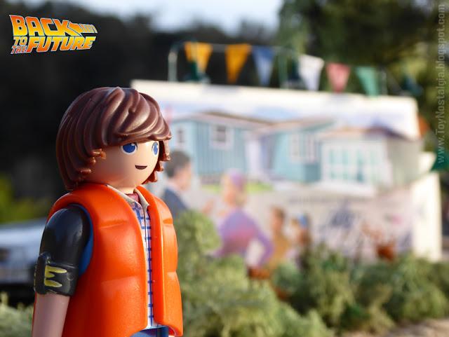 Playmobil Volver al Futuro Lyon Estates diorama