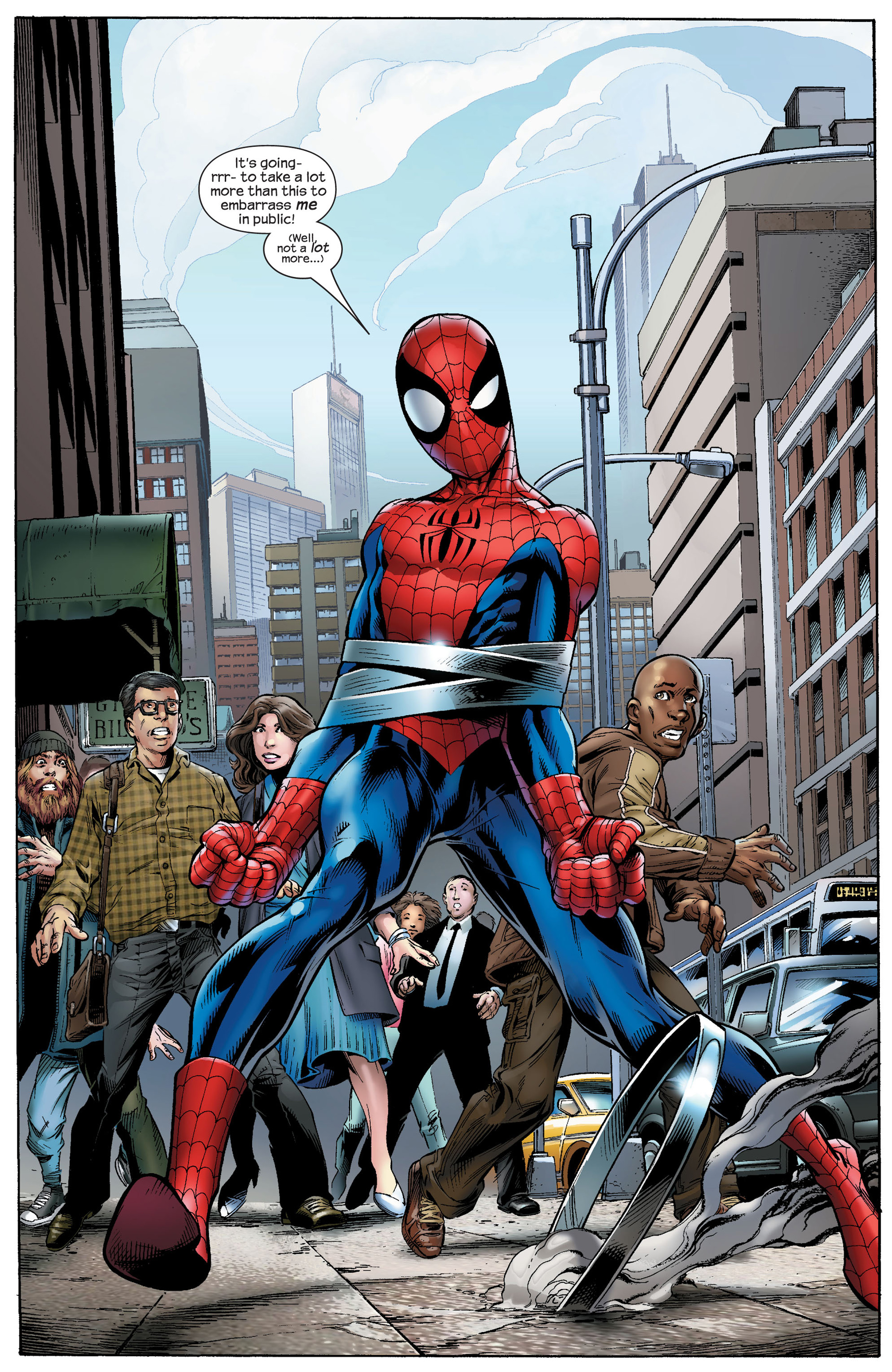 Read online Ultimate Spider-Man (2000) comic -  Issue #91 - 3