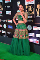 Nandita Swetha in a tight Green Choli Ghagra at IIFA Utsavam Awards March 2017 ~ 022.JPG