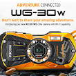 Ricoh WG-30W the Advanced Camera Waterproof Up to 12 Meters
