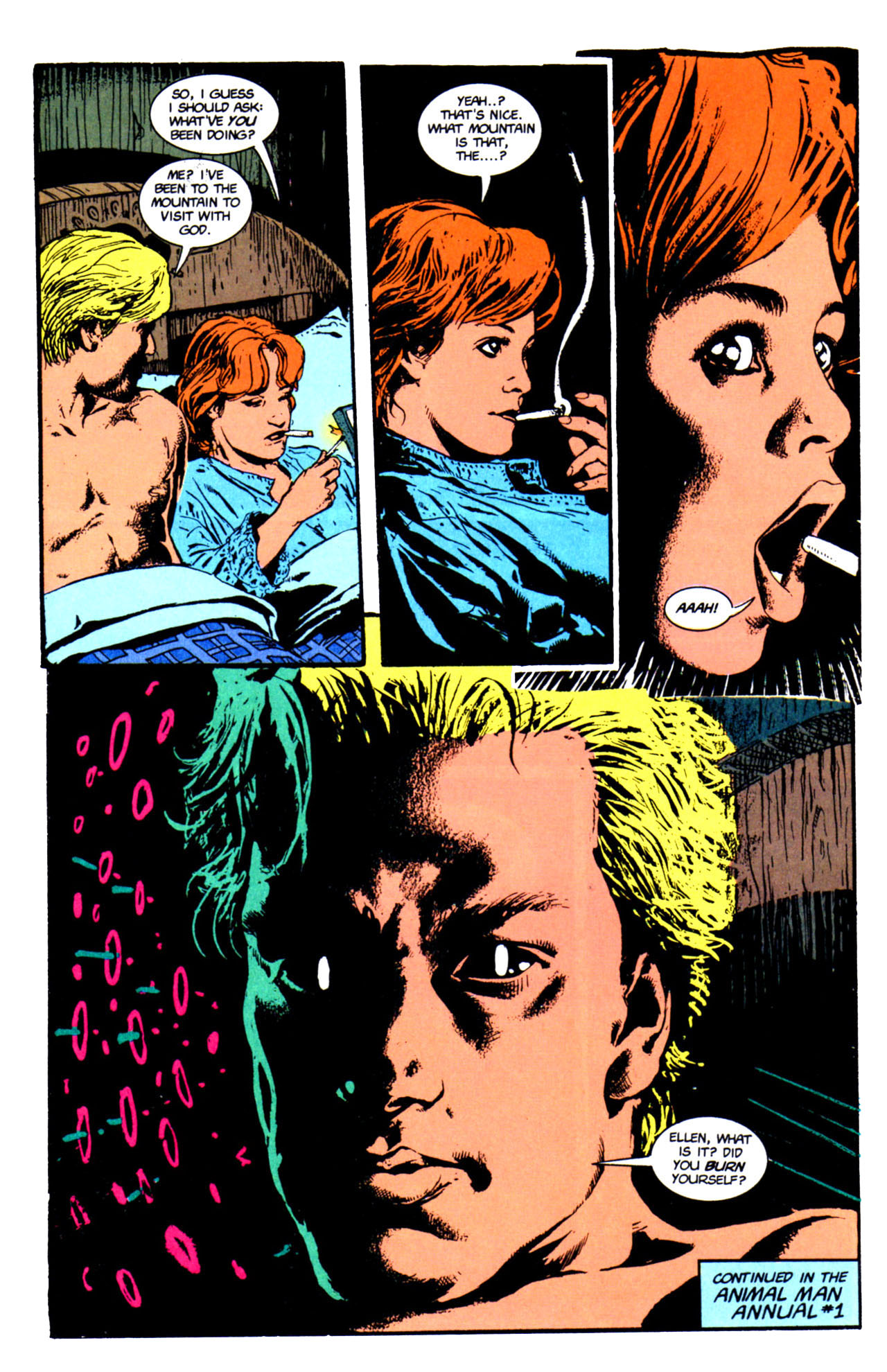 Read online Animal Man (1988) comic -  Issue #66 - 27