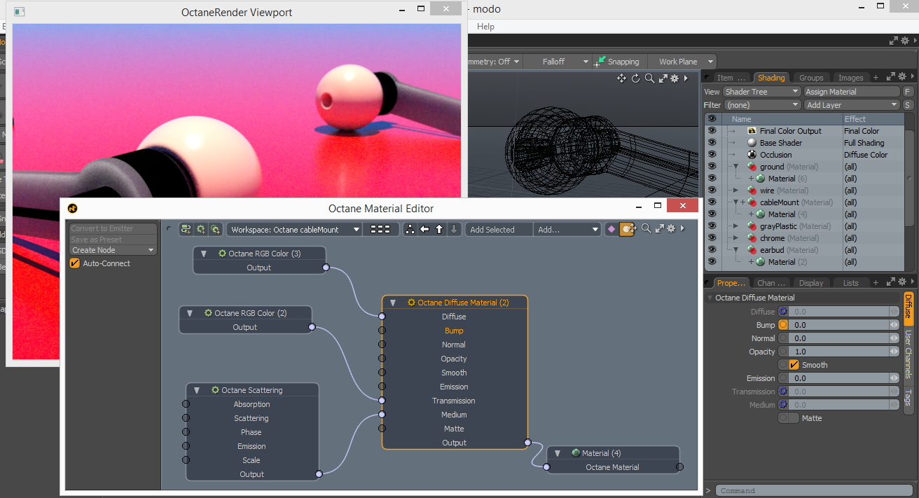 Physicalc Software Blog: OctaneRender for Modo Update