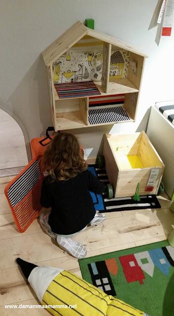 ho perso mia figlia all'Ikea