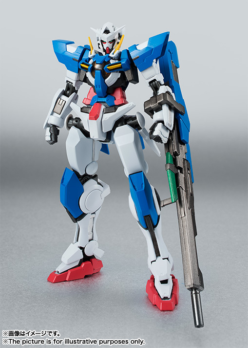 Robot Damashii (SIDE MS) Gundam Exia Repair II and Repair III Parts Set