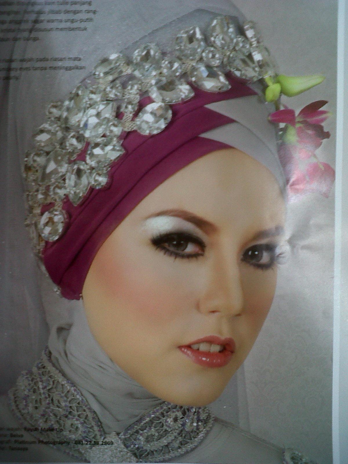 27 Kumpulan Tutorial Hijab Akad Nikah Terlengkap Tutorial Hijab