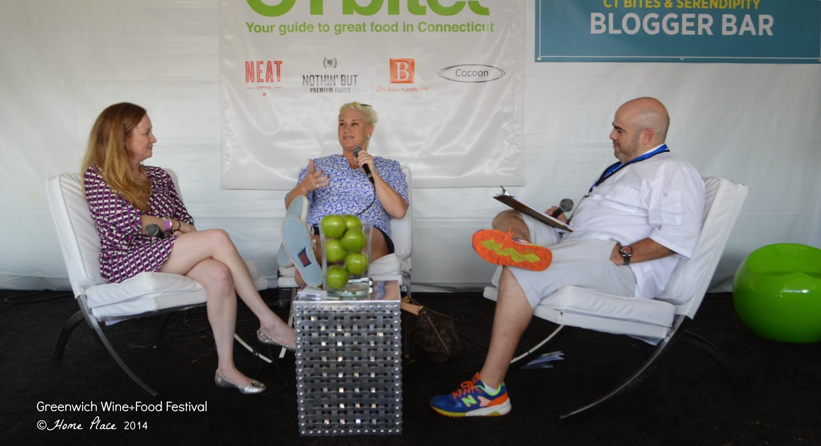 Greenwich Wine + Food Festival - Chef Anne Burrell
