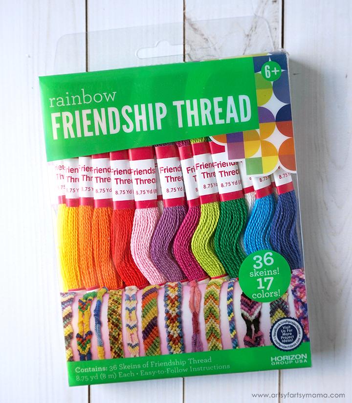 DIY Friendship Bracelet with LEGO Friends