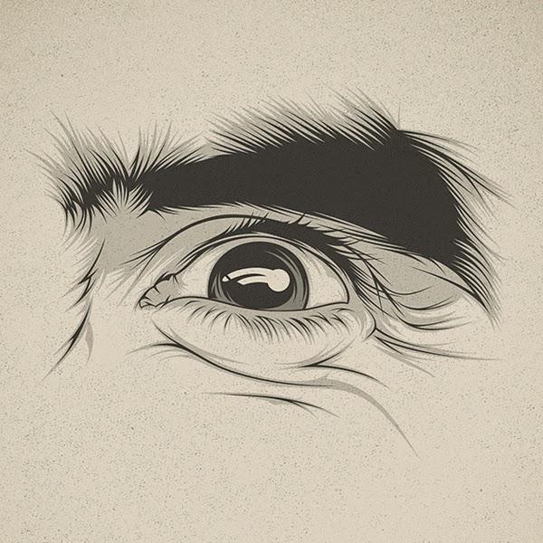 Ilustraciones de expresiones de los ojos por Cranio Dsgn