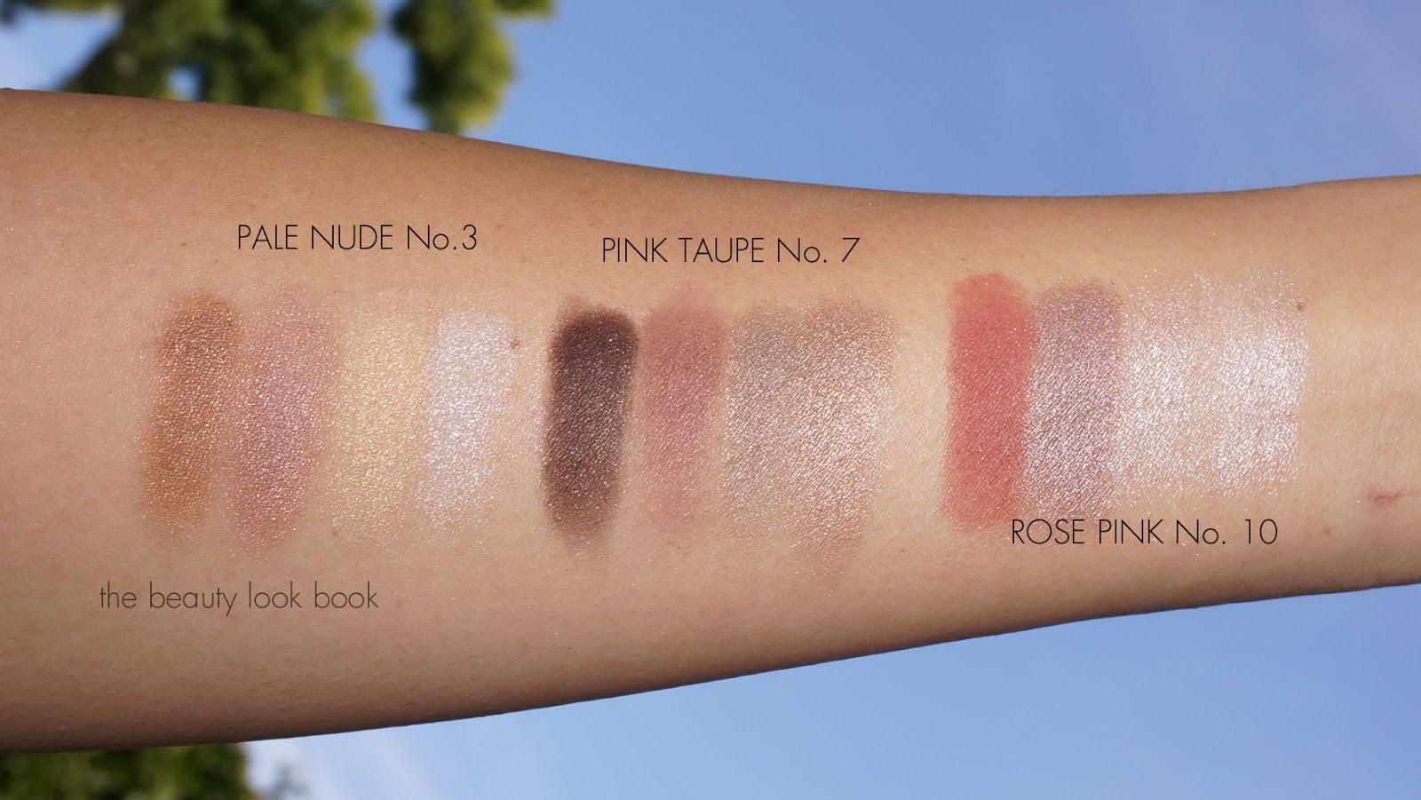 Rose Pink No 10 Complete Eye Palette