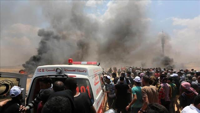 Demonstrasi di Hari Nakba, 55 Warga Palestina Gugur Ditembak Tentara Zionis