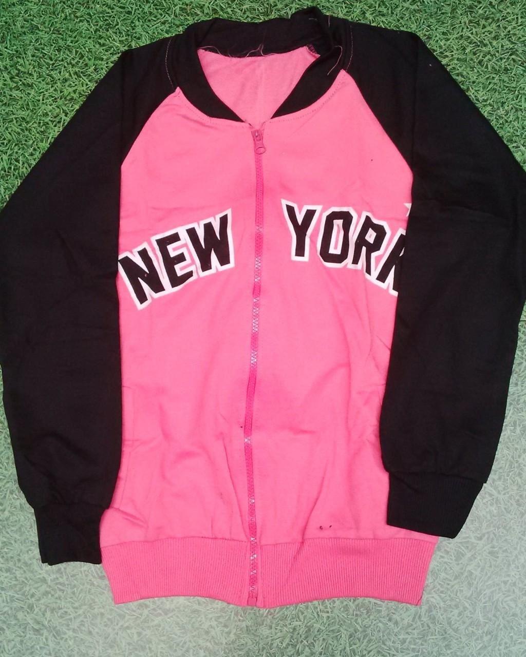 Jual Baju Lengan Panjang Jaket New York Pinkies - 6404