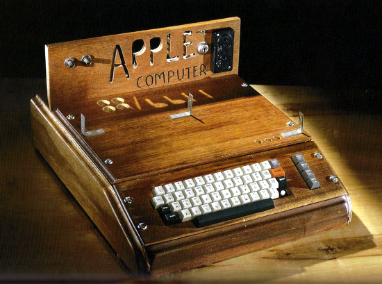 Apple-1 wooden case