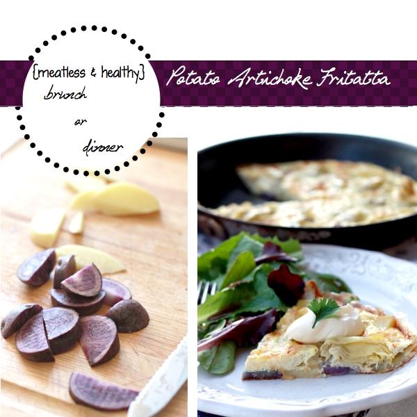 The Yummy Mummy Kitchen Cookbook: Potato Artichoke Frittata