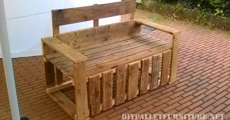 Sillas y sillones de terraza con palets - Sillas con palets ...