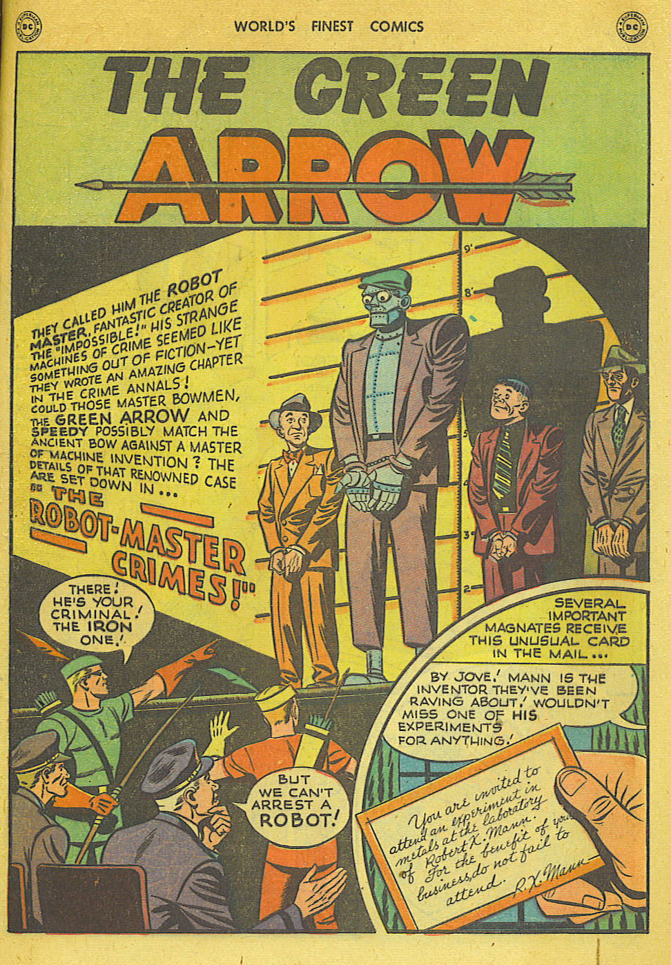 Read online World's Finest Comics comic -  Issue #34 - 41