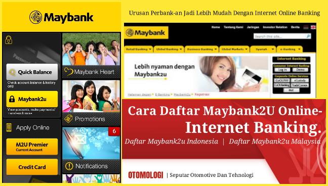 Cara Daftar Maybank2U Internet Online Banking