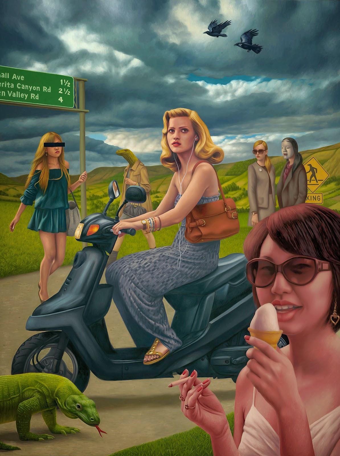 El surrealismo pop de Alex Gross