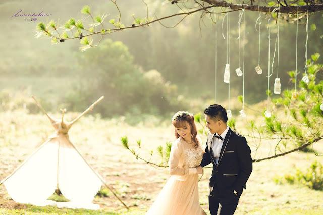 hình cưới đẹp ở đà lạt