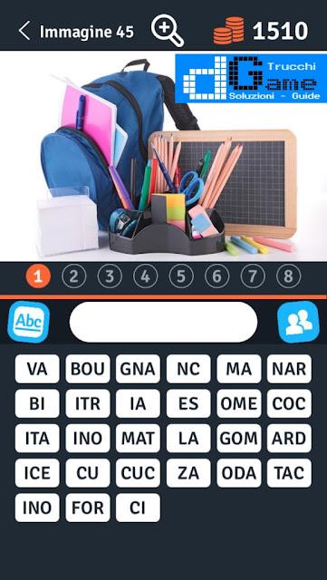 8 Parole Smontate soluzione livello 41-50