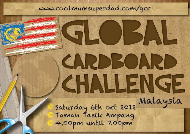 Poster: Global Cardboard Challenge (Malaysia) | Dira Design