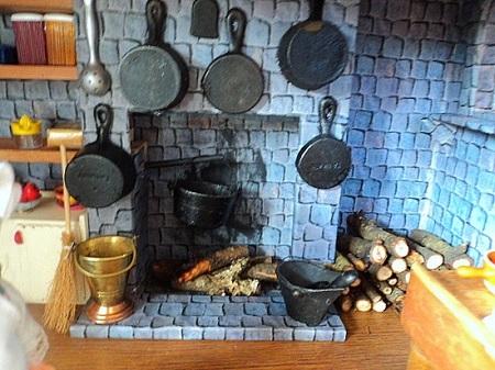 Decorando a casa da Barbie - Cozinha em miniatura para dollhouse
