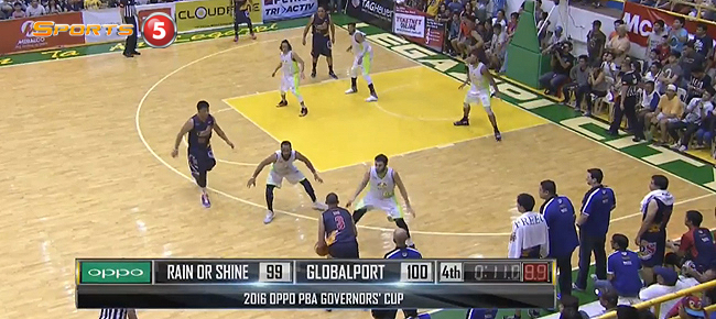 GlobalPort def. Rain or Shine, 101-99 (REPLAY VIDEO) August 27