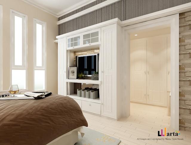 Desain Interior Modern Klasik Pantai Indah Kapuk