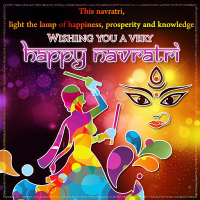 Happy Navratri Quotes Picture Free Download
