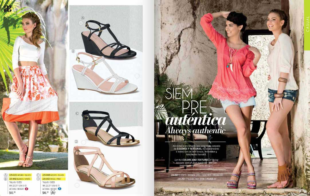 ✓ Catalogos 2017 Collections Zapatos Shoes Andrea Digitales NnPkZ80OwX