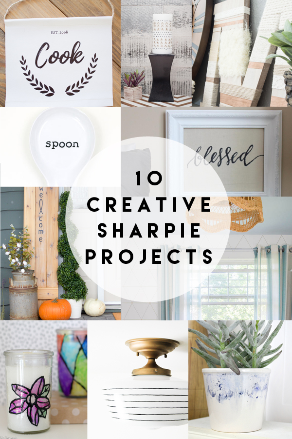 10 Creative DIY Sharpie project ideas.