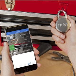 Cadenas Noke qui s'ouvre à l'approche de votre Smartphone