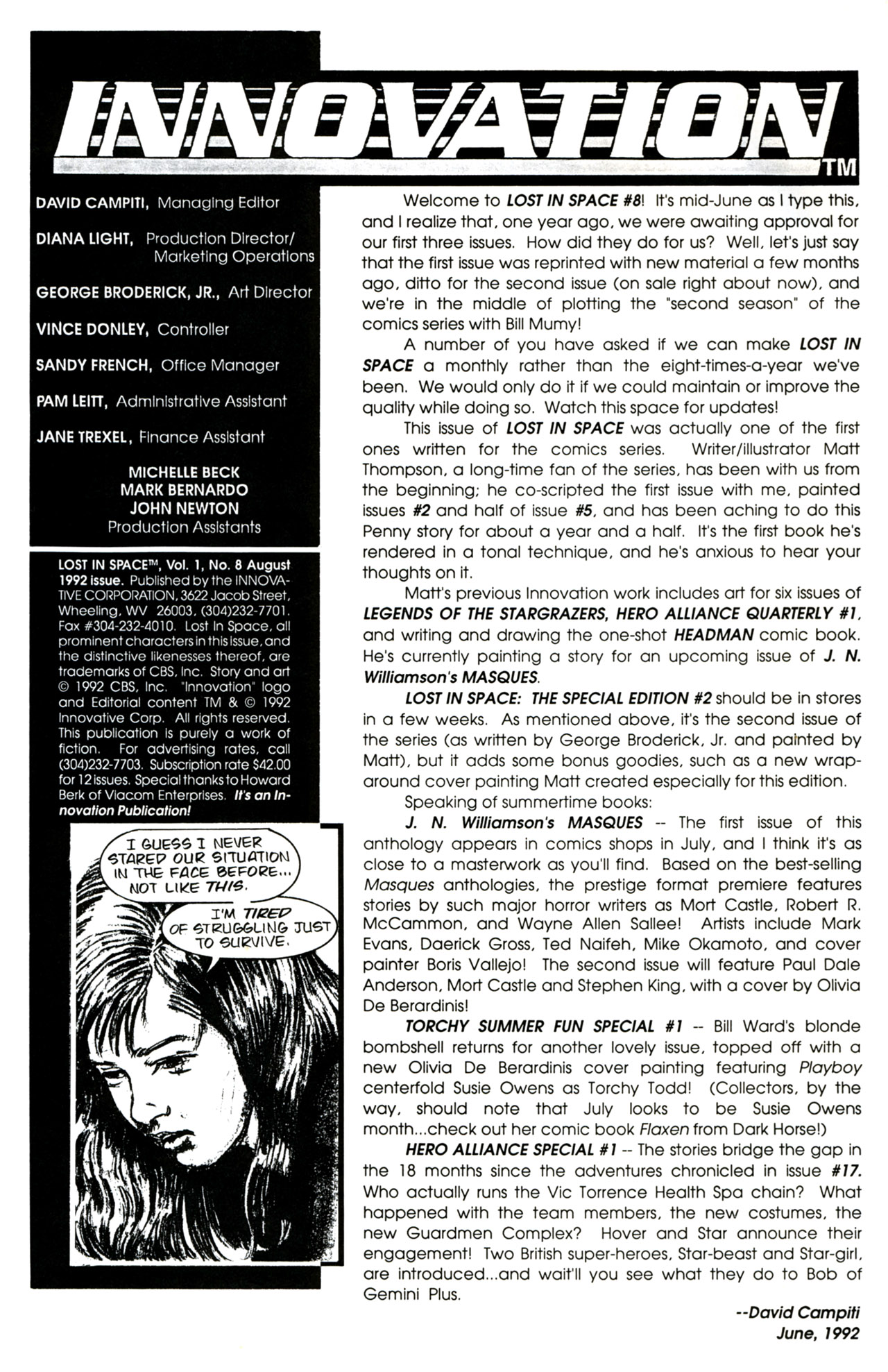 Lost in Space (1991) 8 Page 2