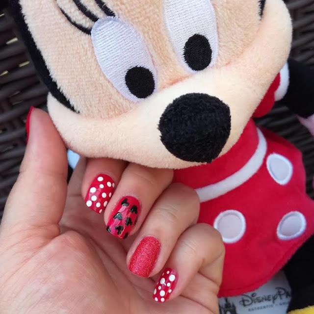 Tuto Nailart Facile Disney Minnie Mouse Mickey Mouse