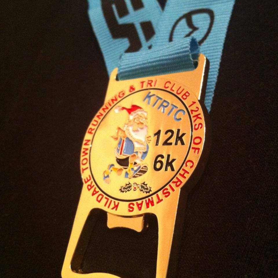 Christmas Running Medals.Running In Ireland The 12k S Of Christmas