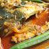 Asam Pedas Ikan Bawal Emas Versi Melaka