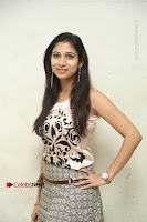 Actress Vanditha Stills in Short Dress at Kesava Movie Success Meet .COM 0056.JPG