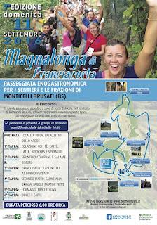 Magnalonga di Franciacorta  11 Settembre Monticelli Brusati (BS) 2016