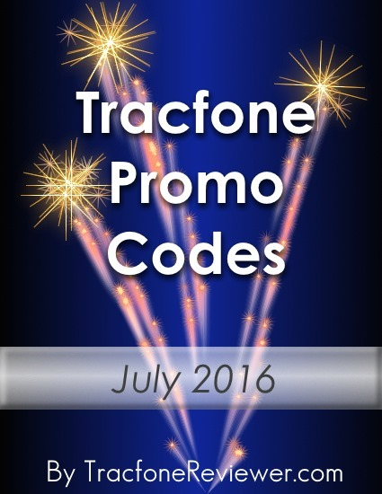 Tracfone Promo Codes for July 2016