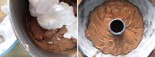 Bizcocho de patata y chocolate (Siempredulces) - Elaboración Paso 4