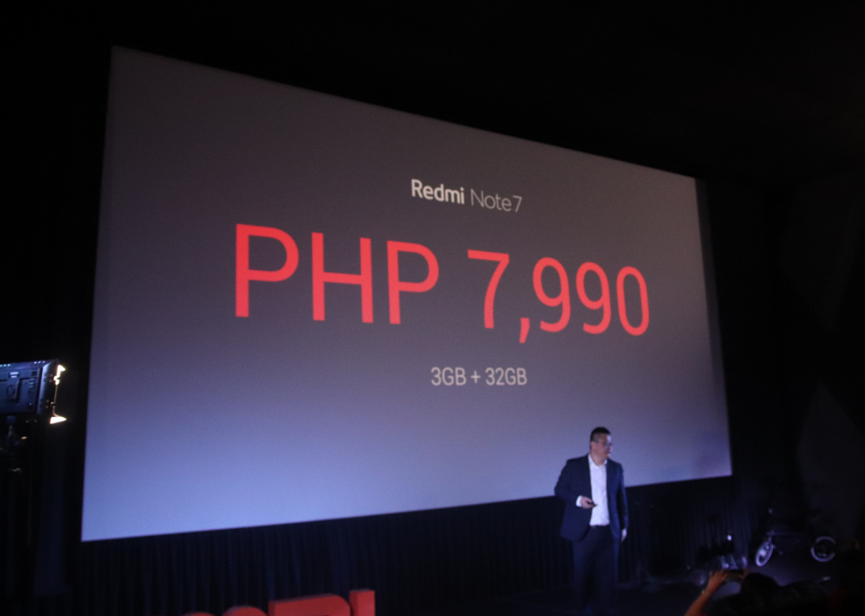 Xiaomi Redmi Note 7 Philippines