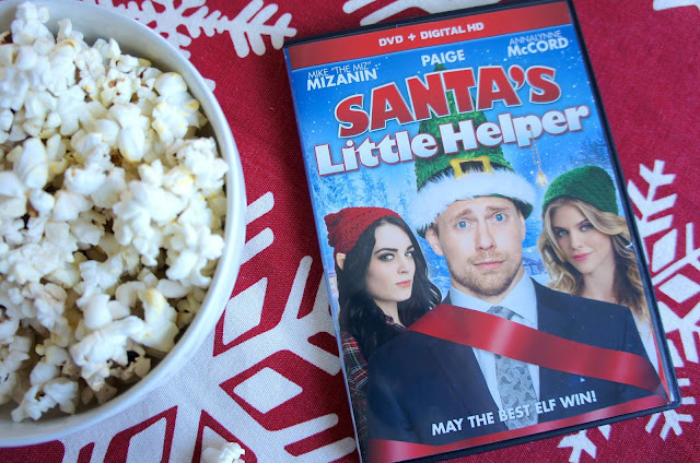 WWE Santa's Little Helper movie review, Miz, Paige